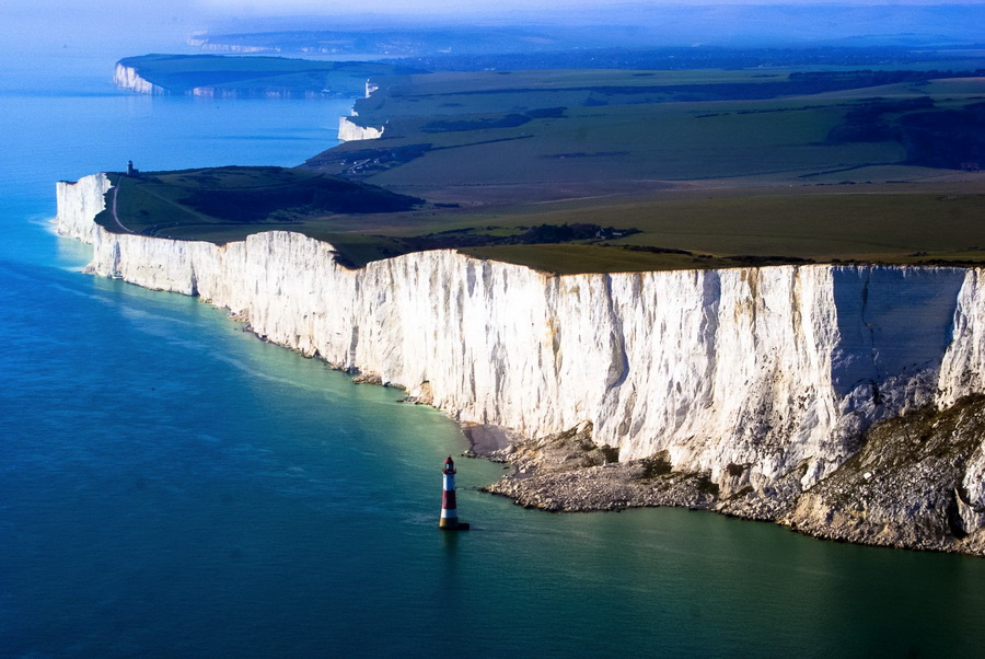 Seven Sisters Cliffs, Sussex, England
