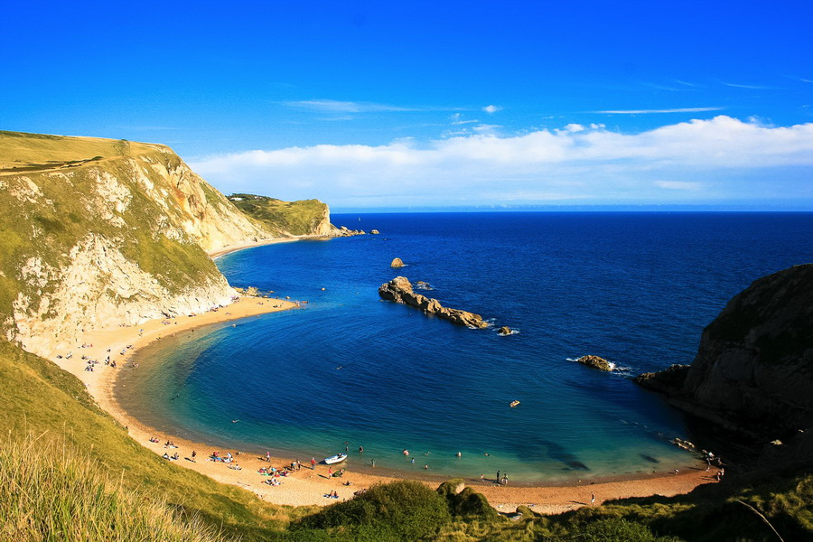 Lulworth Cove, England